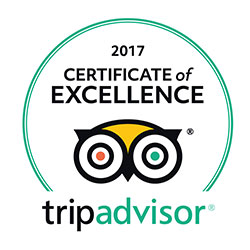 DK Grand Safaris 2017 Trip Advisor Certificate Of Excellence