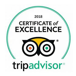 DK Grand Safaris 2018 Trip Advisor Certificate Of Excellence